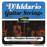 Struny D'Addario EJ16 